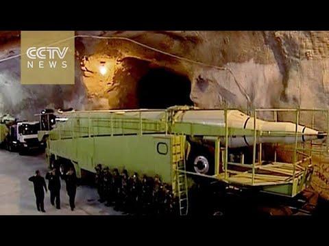 Iran lần đầu tung hình ảnh căn cứ tên lửa bí mật