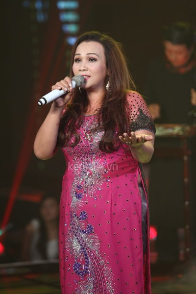 Kim Loan trong chương trình Giọng hát Việt