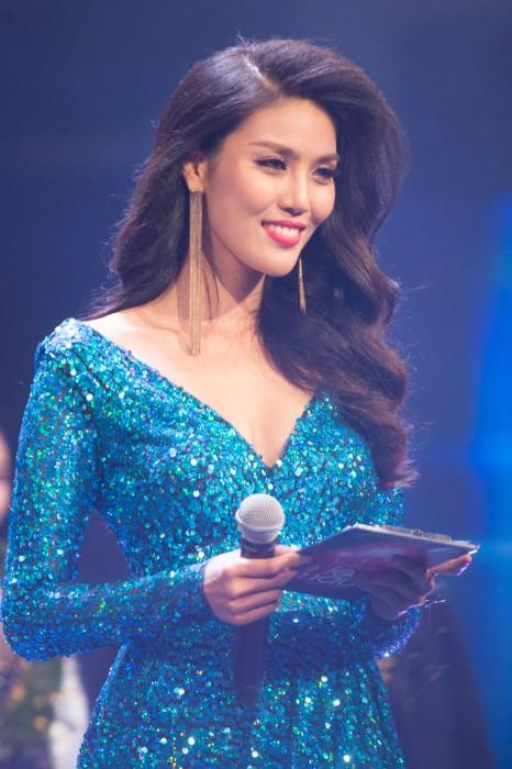Người đẹp Lan Khuê làm MC