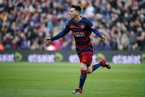 Messi mở tỉ số cho Barcelona