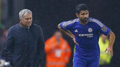 HLV Mourinho vẫn bình thản dù Chelsea bị loại, Costa chấn thương