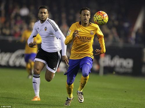 Neymar cũng không chịu kém