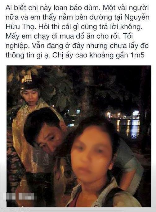 Người phụ nữ này xuất hiện trên nhiều diễn đàn Facebook tại nhiều địa điểm khác nhau - Ảnh chụp màn hình