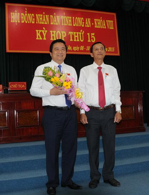 Ông Rạnh được bầu chức danh Chủ tịch HĐND tỉnh Long An