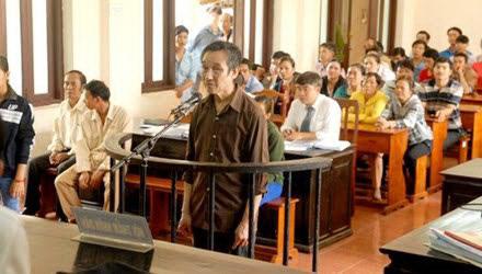 Ông Nguyễn Văn Đồng tại phiên xét xử sơ thẩm Ảnh: Tư liệu