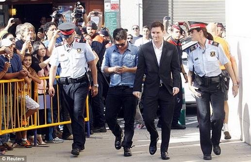 Phiên tòa xử Messi tội trốn thuế thu hút sự quan tâm của đông đảo người hâm mộ từ năm 2013