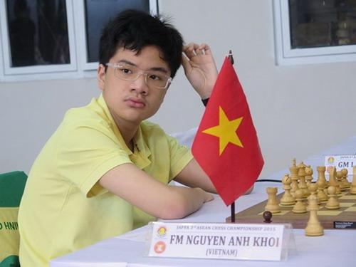 Anh Khôi có đủ các danh hiệu vô địch Đông Nam Á, châu Á và thế giới