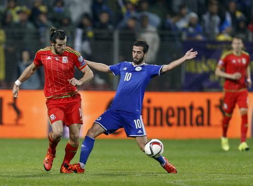 Bale và đồng đội để lỡ nhiều cơ hội ghi bàn trước Bosnia