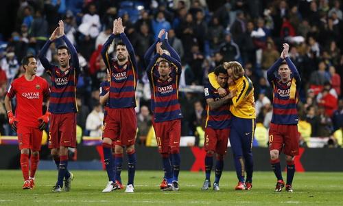 Chiến thắng ngay tại Bernabeu của Barcelona