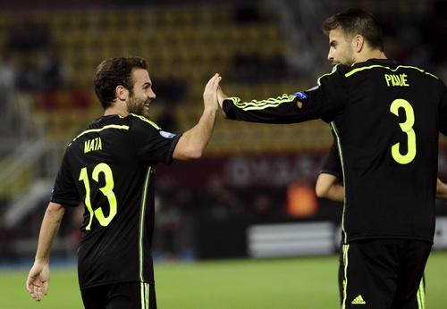 Juan Mata ghi bàn duy nhất cho Tây Ban Nha