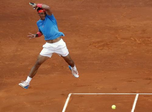 Nadal là biểu tượng hàng đầu của các giải đấu sân đất nện