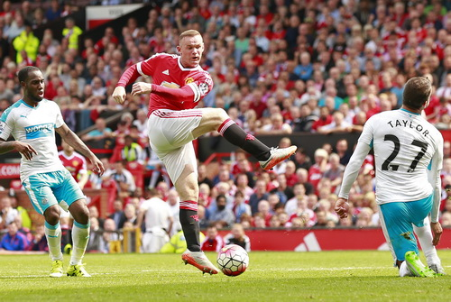 Rooney vắng mặt 2 trận liên tiếp của Man United