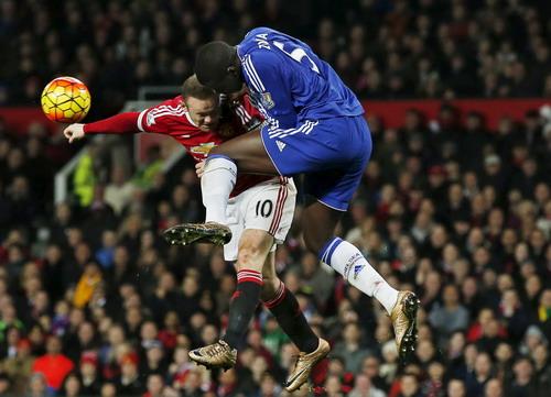 M.U thi đấu đầy quyết tâm trước Chelsea