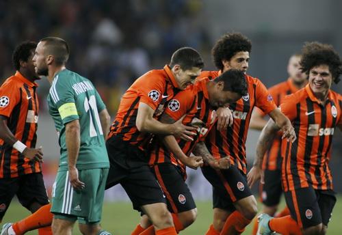 Shakhtar Donetsk được đánh giá cao không kém Sevilla