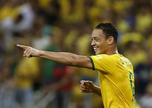 Chân sút 35 tuổi Ricardo vẫn được trọng dụng ở tuyển Brazil