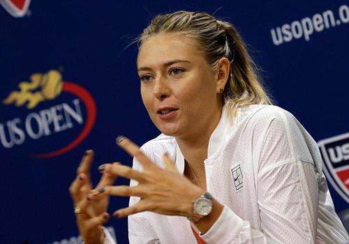 Sharapova từng phải rút lui khỏi giải Mỹ mở rộng 2015 vì chấn thương