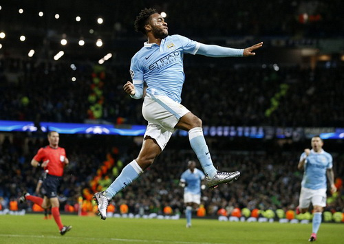 Man City bay cao cùng tài năng của Raheem Sterling