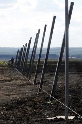 Doanh trại quân đội dự kiến có tổng diện tích hơn 6.000 m2. Ảnh: Reuters