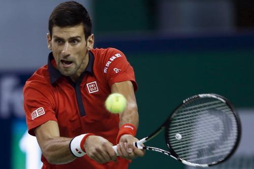 Novak Djokovic không mất nhiều thời gian so tài với Martin Klizan