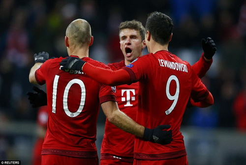 Bayern Munich và sức mạnh tấn công khủng khiếp trên mọi đấu trường