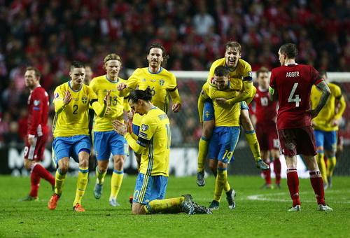 Nỗi buồn Đan Mạch, niềm vui Thụy Điển sau trận derby Bắc Âu