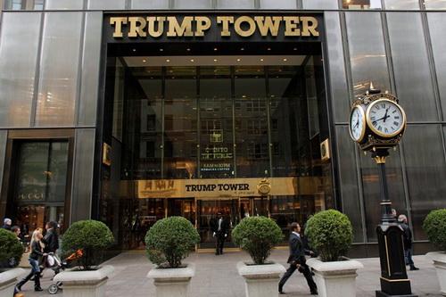 Tòa nhà Trump ở khu sang trọng bậc nhất New York
