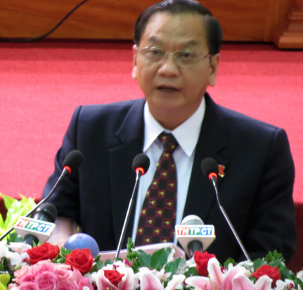 Ông Trần Quốc Trung đắc cử Bí thư Thành uỷ TP Cần Thơ. Ảnh: Bảo Trâm