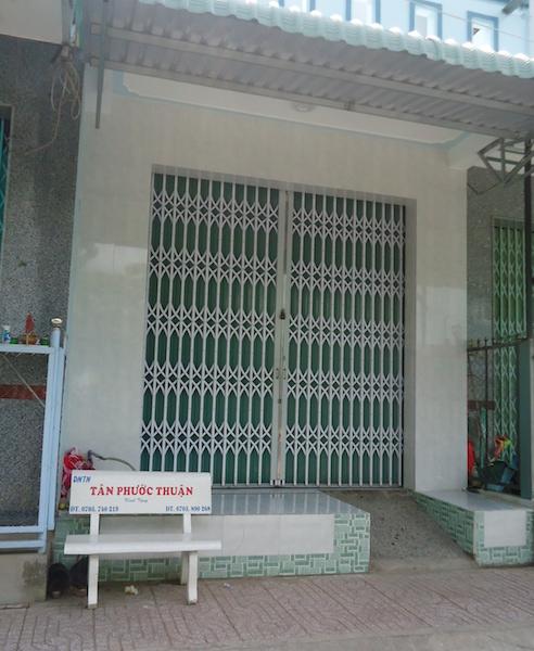 Ngôi nhà của vợ chồng anh T., nơi xảy ra vụ trộm.