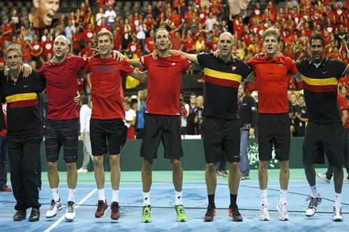 Đội tuyển Bỉ vào chung kết