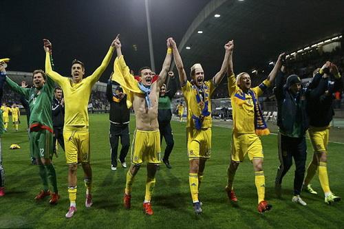 Ukraine lần đầu tiên dự VCK từ vòng loại