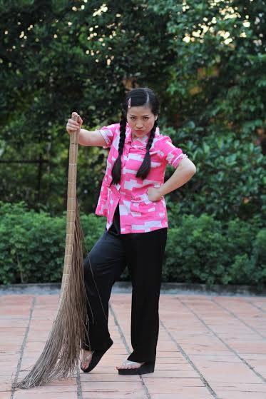 Kiều Linh-người chuyên đóng vai osin trên phim