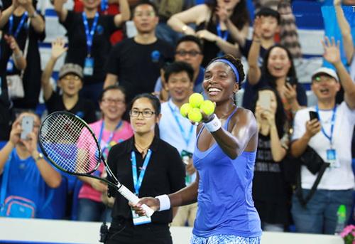 Venus Williams hồi sinh ở tuổi 35