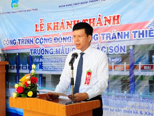 Ông Phạm Mạnh Thắng, Phó tổng giám đốc Vietcombank