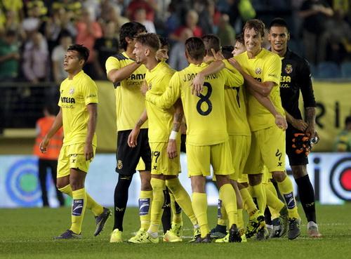 Tàu ngầm vàng Villarreal chờ thành tích cao nhất ở đấu trường châu Âu