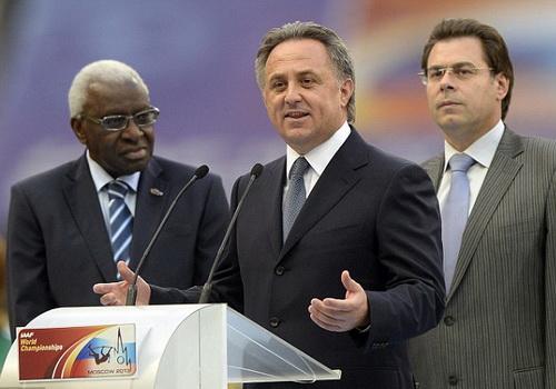 Bộ trưởng thể thao Vitaly Mutko: Thể thao Nga bị làm khó dễ