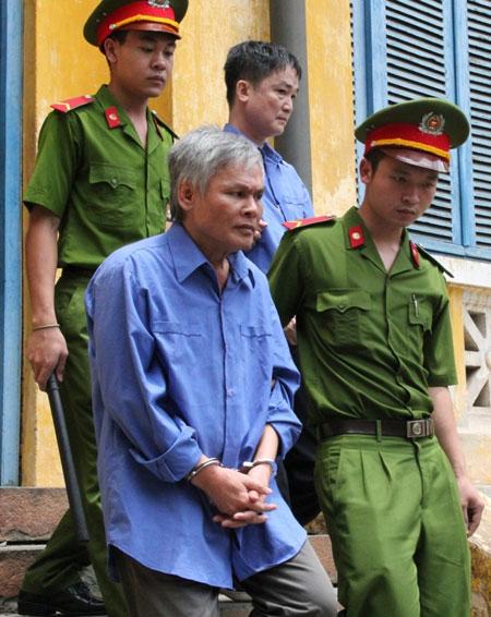 Bị cáo Vũ Quốc Hảo, nguyên Tổng giám đốc ALC II, bị tuyên y án tử hình trong phiên tòa phúc thẩm vào tháng 4-2015