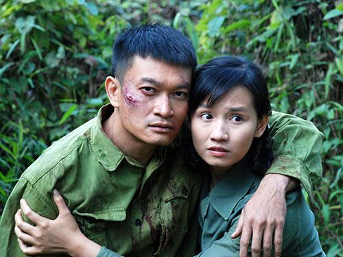 """Quốc Thái vai Quang trong phim """"Người trở về"""" Ảnh: HUYỀN ĐẶNG"""