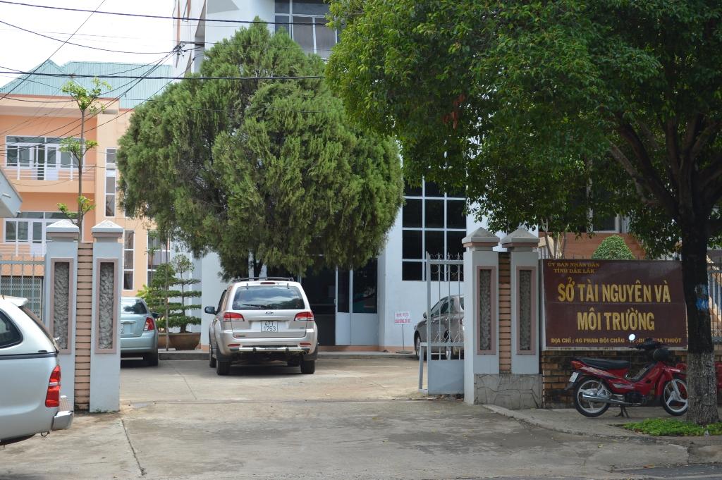 Sở TN-MT tỉnh Đắk Lắk nơi để xảy ra một số sai phạm trong quá trình đầu tư