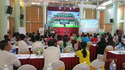 Một cuộc hội thảo rầm rộ của Công ty Cổ phần Liên kết Tri thức K-Link Việt Nam. Ảnh: báo QĐND