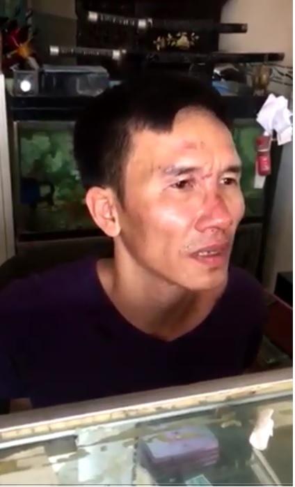 Phạm Văn Quyết bị bắt giữ tại hiện trường