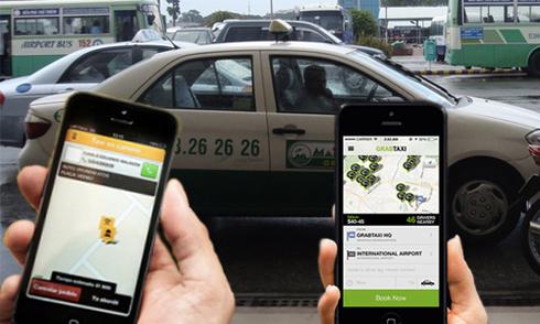Dịch vụ taxi truyền thống và hiện đại đang cạnh tranh khốc liệt.