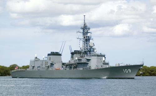 Tàu JS Ariake (DD-109) của Hải quân Nhật Bản. Ảnh: Wikipedia