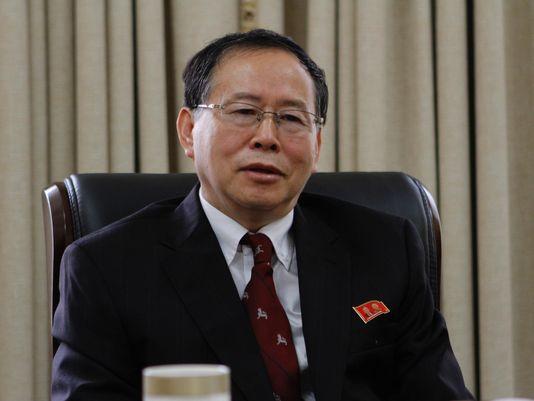 Ông Han Song-ryol. Ảnh: AP