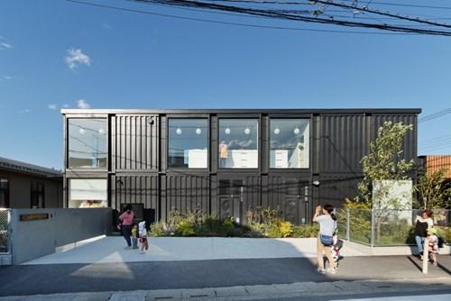 Độc đáo nhà trẻ container tại Nhật Bản