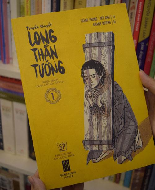 """Bìa truyện tranh """"Long thần tướng"""" dành cho người lớn của Việt Nam"""