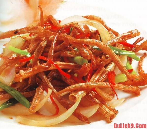 Những món ăn đặc sản khi du lịch Hạ Long