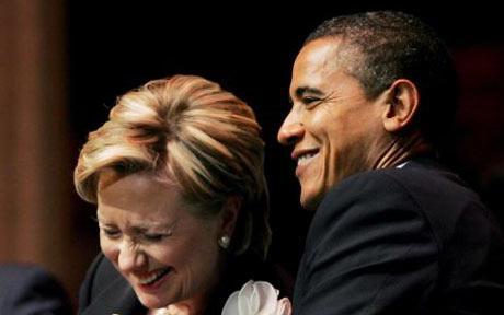 Tổng thống Mỹ Barack Obama chính thức lên tiếng ủng hộ bà Clinton. Ảnh: EPA