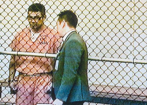 Bac Tien Duong ra tòa ngày hôm qua. Ảnh: Ocregister