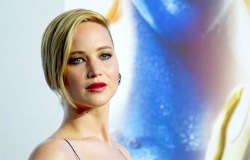 Jennifer Lawrence nằm trong số những sao nữ gặp sự cố phát tán ảnh nude được gọi là Celebgate. Ảnh: Gawker.