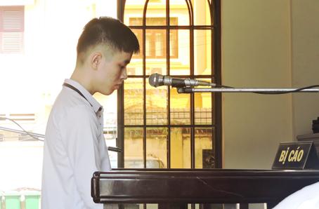 Bị cáo Đặng Lưu Hoài Phong.